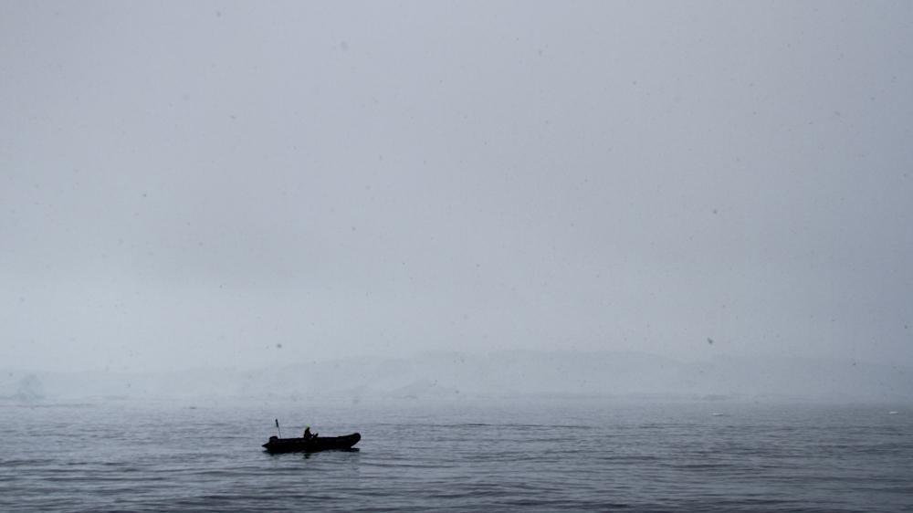 Antarctic Morning